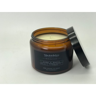 Amber Jar candle 100% scented soy
