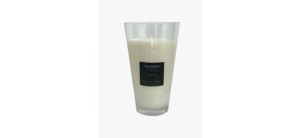 XXL Soy wax scented crystal candle glass