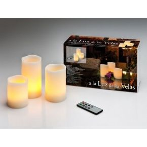 VELAS LED SET X 3