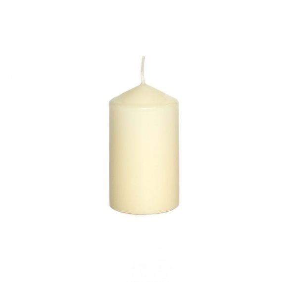 decorative candles natural color