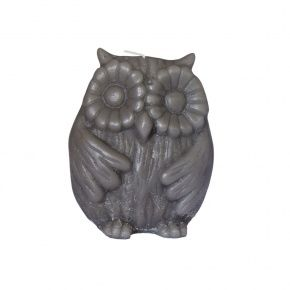 owl shape candles