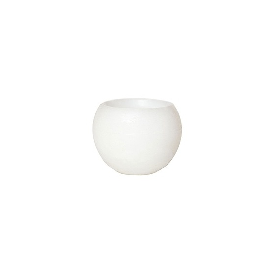 round hollow candles