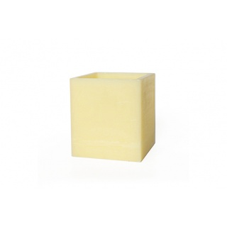 Square hollow candle - 20 x 20 x 22 cm. Height
