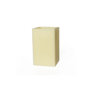 Square hollow candle - 16 x 16 x 26 cm. Height