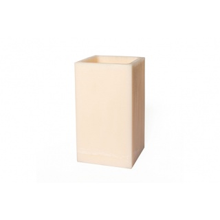 Square hollow candle - 20 x 20 x 35 cm. Height
