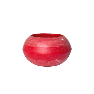 BOWL 27 X 15 WAX LANTERN CANDLE