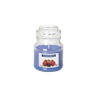 SCENTED CANDLES IN GLASS WITH A LID
