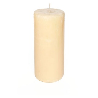 Rustic cylindrical candle 7 Ø x 15 cm. Height