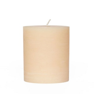 Rustic cylindrical candle 12 Ø x 16 cm. Height