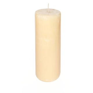 Rustic cylindrical candle 5 Ø x 15 cm. Height