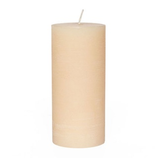 Rustic cylindrical candle 10 Ø x 35 cm. Height