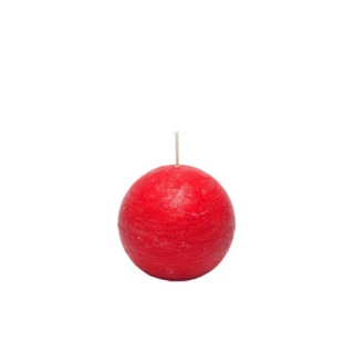 Ball candle 6 cm.