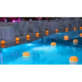 Pack 1 - Floating candles for swimming pools