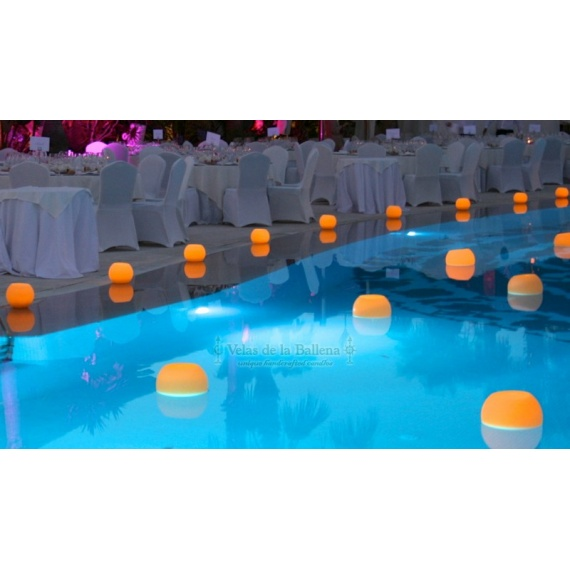 floating candles for swimming pools