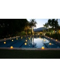 Pack 2 - Floating candles for swimming pools