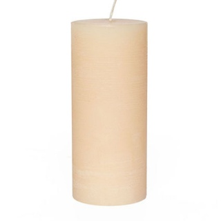Rustic cylindrical candle 19 Ø x 50 cm. Height
