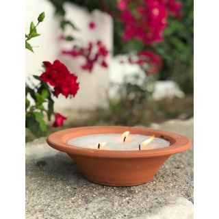 Anti Mosquito Flowerpot Candle - 6 units Box