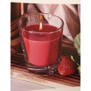 Anti-bug candle glass - box 12 units