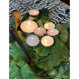 TEALIGHT X 100 PCS (4 hr.)