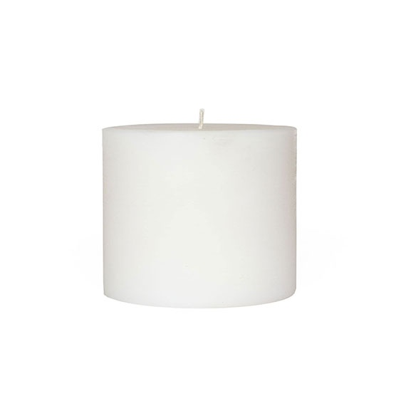 large cylindrical candles