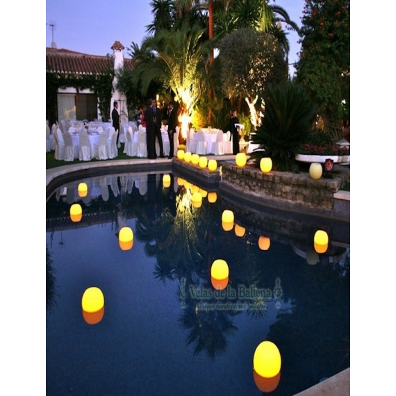 floating candles for events