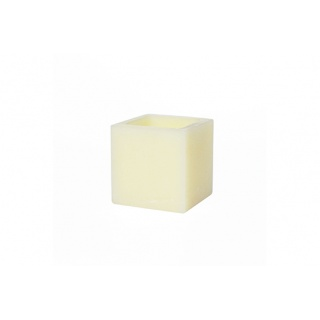 Square hollow candle - 13 x 13 x 13 cm. Height