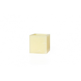 Square hollow candle - 10 x 10 x 10 cm. Height