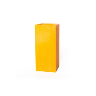 Square hollow candle - 20 x 20 x 45 cm. Height